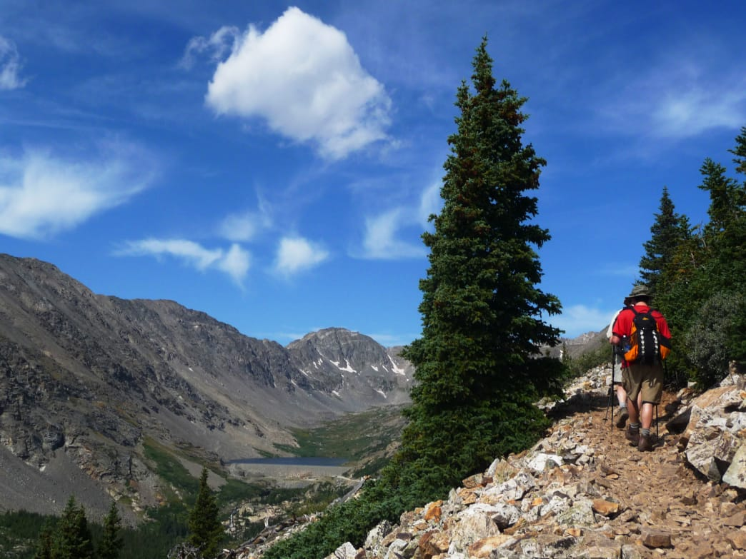 Climbing Quandary Peak is just one of the memorable outdoor adventures near Dillon, Colorado. Katie Dills